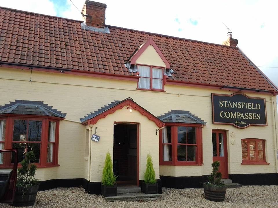 Stansfield Compasses pub suffolk