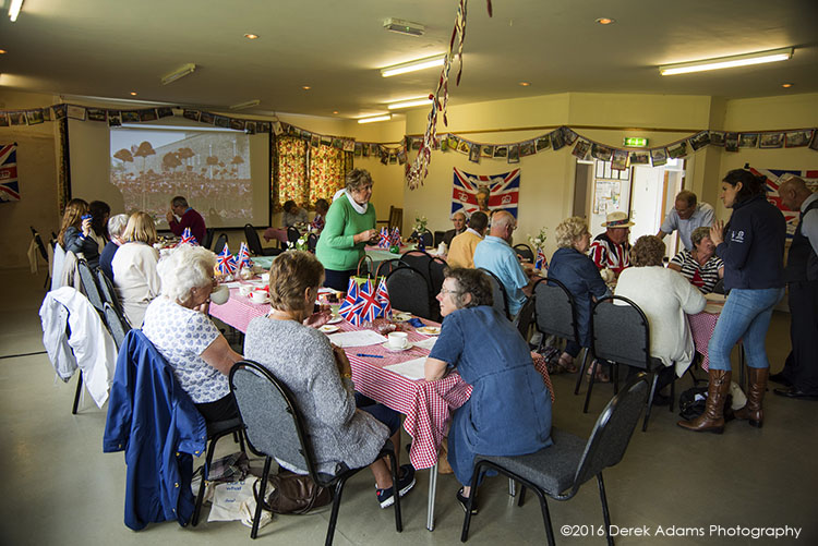 Queens 90th birthday tea