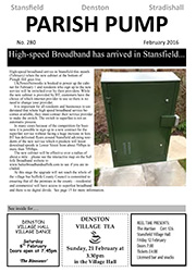 Stansfield newsletter feb 2016
