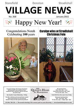 Stansfield Village newsletter January 2015