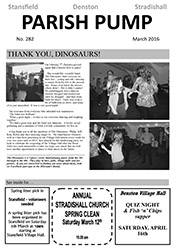 March 16 Newsletter
