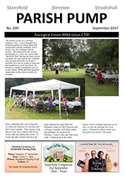 Stansfield Parish pump - newsletter